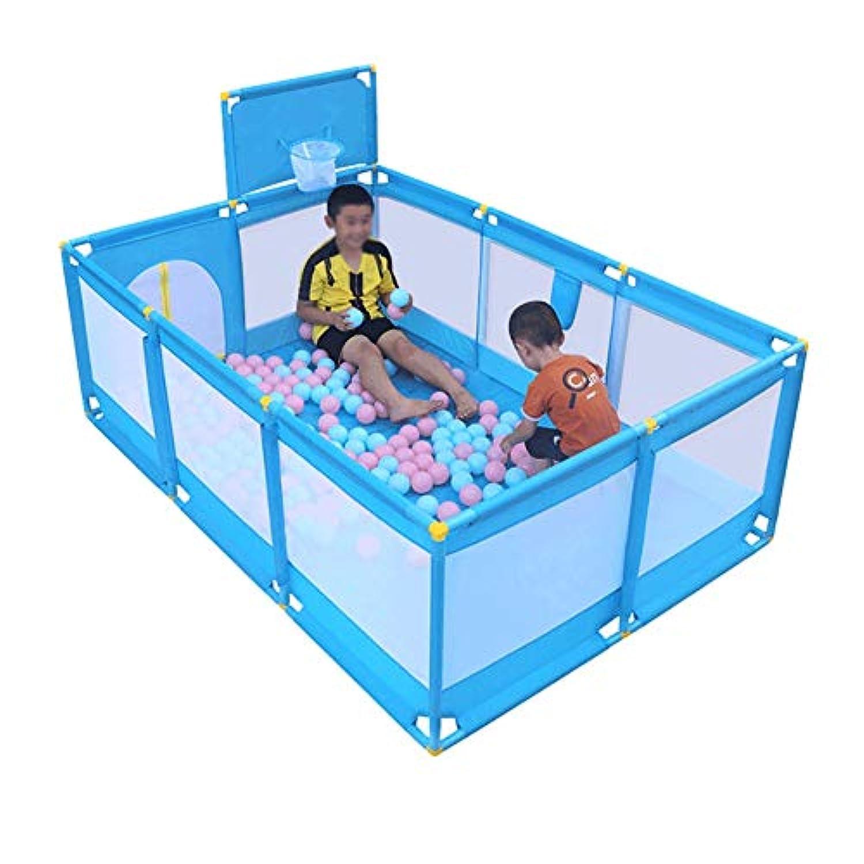 ベビーサークル 赤ちゃんゲーム遊び屋屋内幼児遊び場青い子供遊びペン屋外子供安全フェンス遊び場 (色 : Style-1)