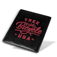WBDLJHAブックカバー9x11 In Trek Bicycle USA ブックカバー 文庫 コンサイス 皮革調 手作り手帳 日記帳 システム手帳 アンティーク ブックカバー 詰め替えレザートラベルジャーナル執筆日記 卒業記念品
