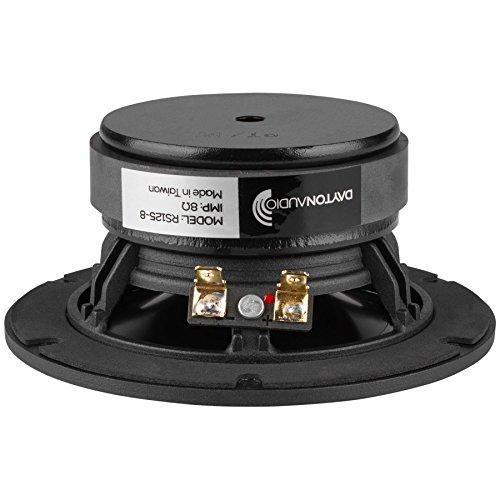 【国内正規品】Dayton Audio RS125-8  12.5cm ウーファー 8Ω DASPWF52