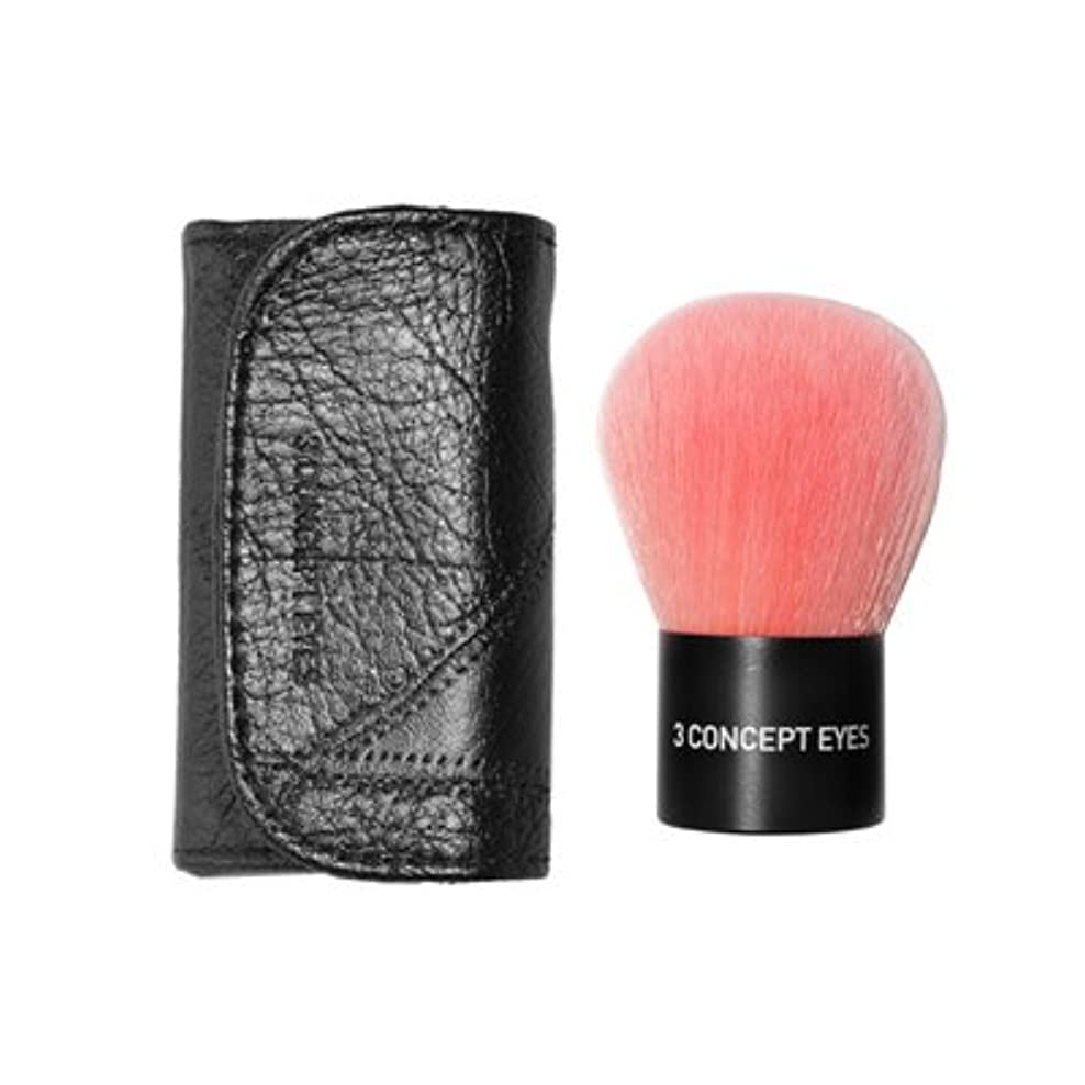 レンジ救援妥協3CE Pink Kabuki Brush 3CE ピンク カブキ ブラシ [並行輸入品]