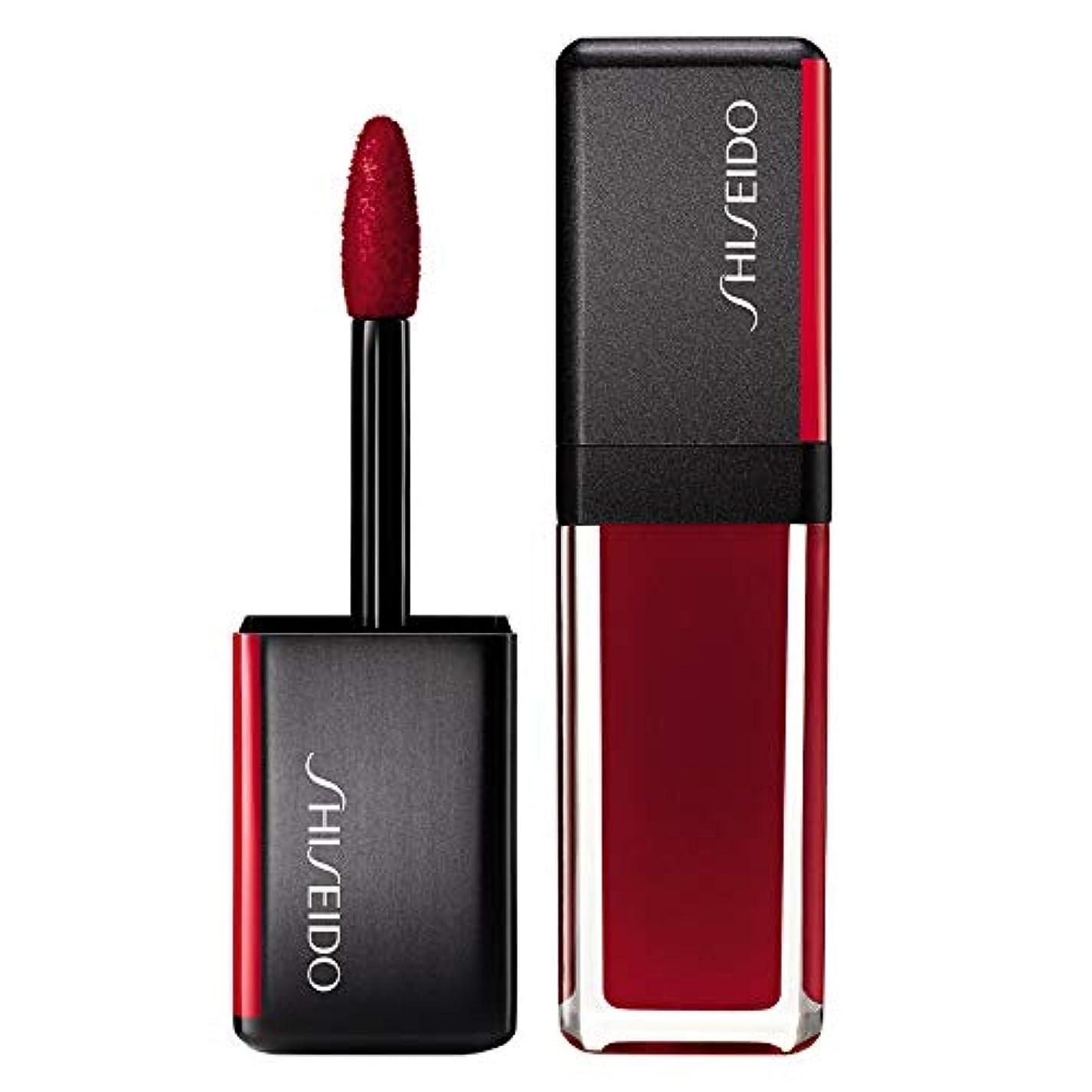砲兵不公平助言する資生堂 LacquerInk LipShine - # 307 Scarlet Glare (Scarlet) 6ml/0.2oz並行輸入品