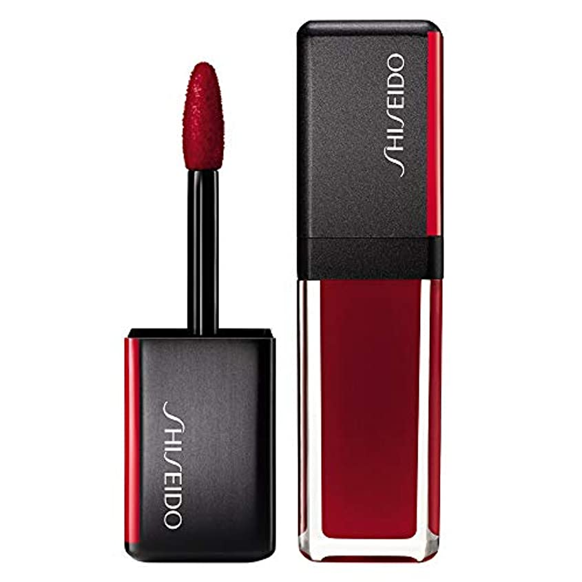 期待価格ボーダー資生堂 LacquerInk LipShine - # 307 Scarlet Glare (Scarlet) 6ml/0.2oz並行輸入品