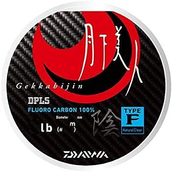ダイワ(DAIWA) ライン 月下美人 TYPE-F 陰 150m 2.5lb (0.6号) ナチュラルクリア