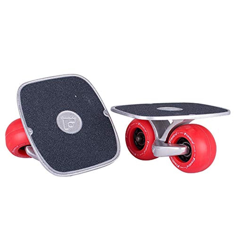 スケートボードシングルフットスプリットクルーザースケートボード初心者用アダルトユニセックス (色 : F f)