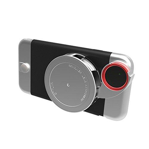 ズタイラス iPhone 6 Plus / 6S Pluse 専用ケース + カメラレンズキット Ztylus「金属シリーズ」 金属スタンド+4in 1 回転式レンズキット:フィッシュアイ、マクロ、広角、C-PL (IPHONE 6S PLUS) [並行輸入品]