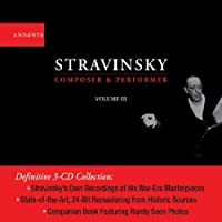 Composer & Performer 3 by STRAVINSKY (2004-04-20)