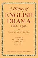 History of English Drama, 1660-1900 (History of English Drama, 1660-1900 7 Volume Paperback Set (in 9 parts))