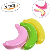 携帯用 バナナケース バナナまもるくん 保護ケース バナナおもちゃ バナナ容器 プラスチック製