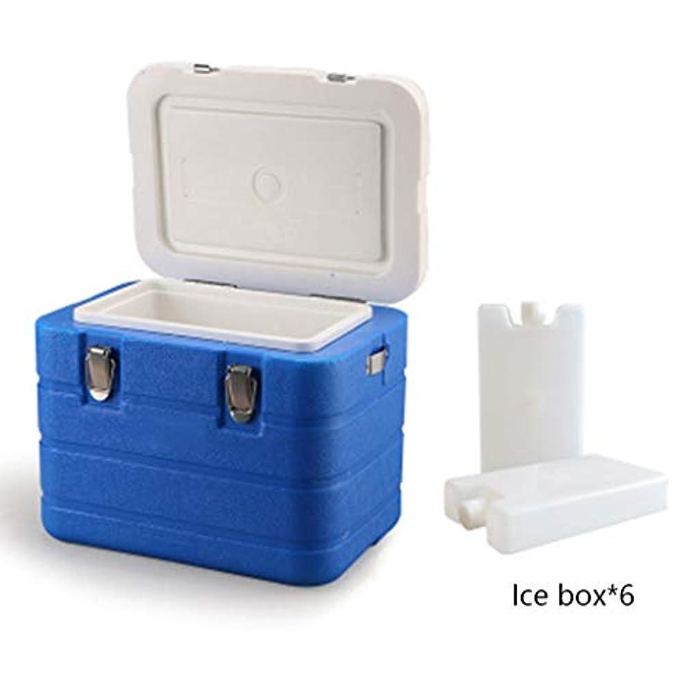 満たすウール喜ぶ6L涼しい箱/絶縁箱、使用アイスキューブは48-72h(33 * 24 * 27.5cm)冷蔵することができます