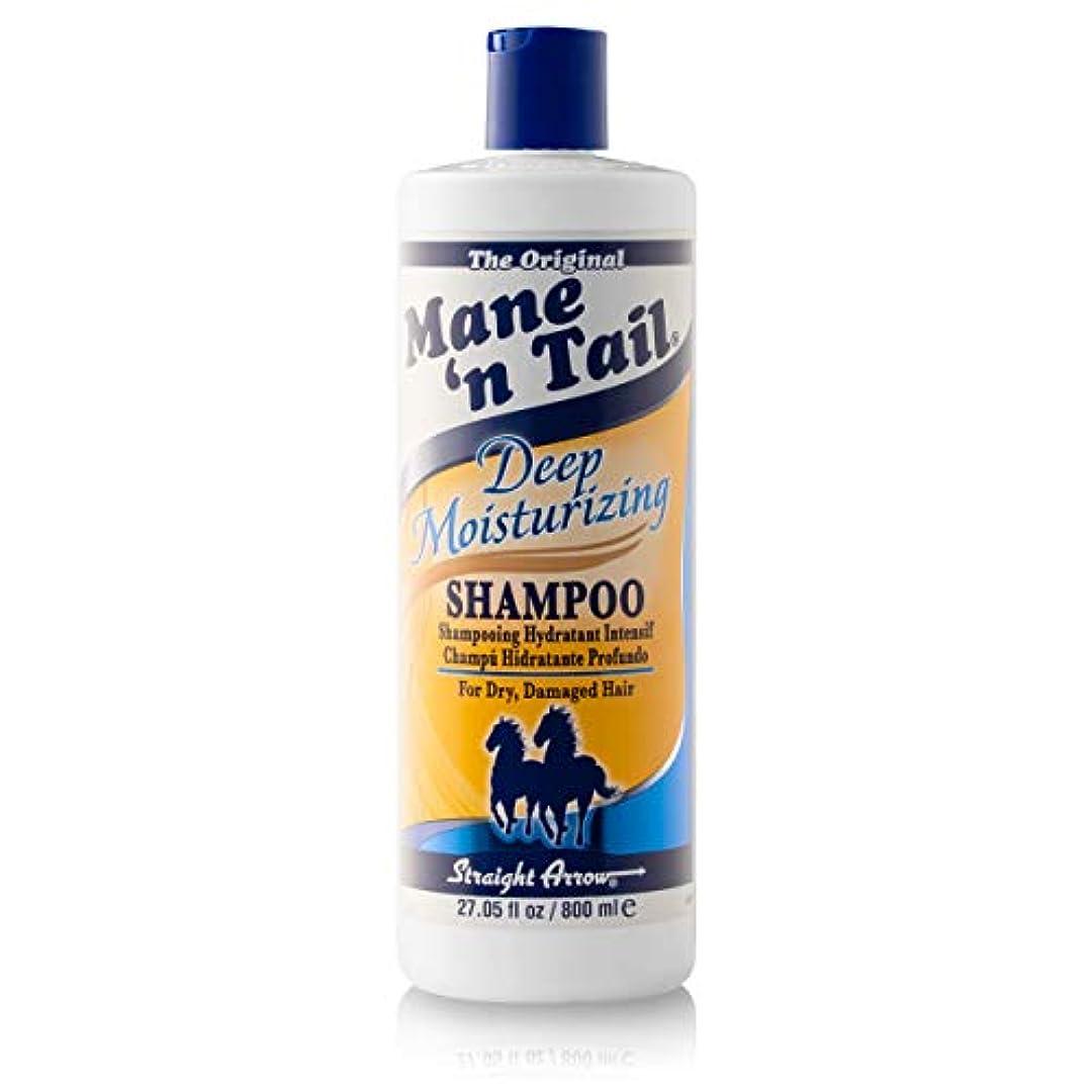 素朴なルーフ地下室メインテイル Mane 'n Tail Deep Moisturizing Shampoo 27.05 oz 800ml 並行輸入品