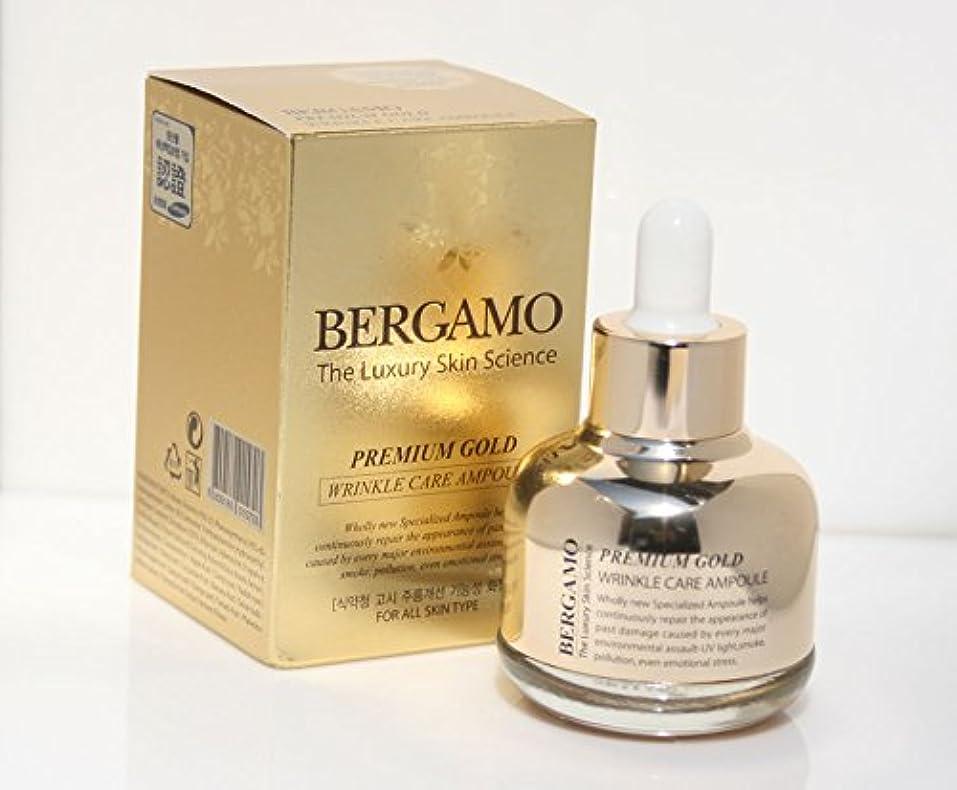 甘い適合しましたジュニア【ベルガモ][Bergamo] 皮膚科学プレミアムゴールドリンクルケアアンプル30ml / The Skin Science Premium Gold Wrinkle Care Ampoule 30ml / 韓国化粧品...