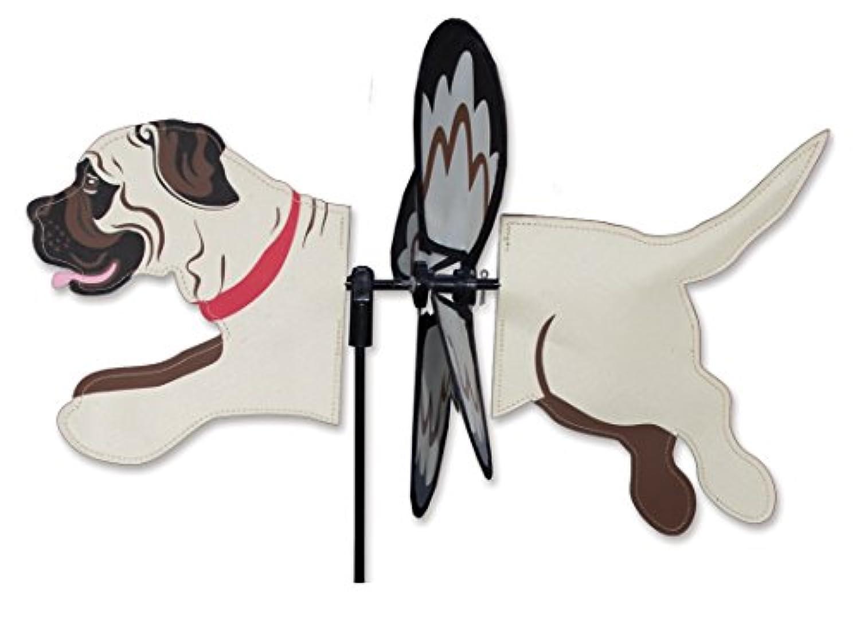 (Mastiff) - Premier Kites Petite Wind Spinner for Patio, Lawn, Garden 100% Rain & UV Resistant Polyester - Aerodynamic, Sturdy Long Lasting Dog Wind Spinner (Mastiff)
