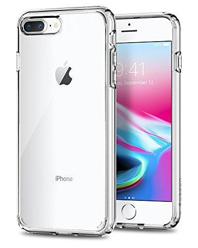 【Spigen】 スマホケース iPhone8 Plus ケ...
