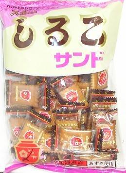 松永製菓 230g ◆スターしるこサンド◆ 230g×6袋