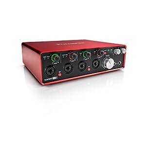 Focusrite Scarlett 18i8 G2 18in 8out 24bit 192kHz USBオーディオインターフェイス