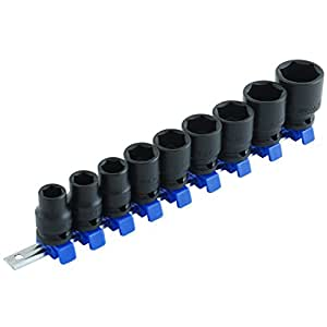 SK11(エスケー11) インパクトソケットセット 差込角 12.7mm (1/2インチ) 12・13・14・17・19・21・22・24・27mm SHS409P