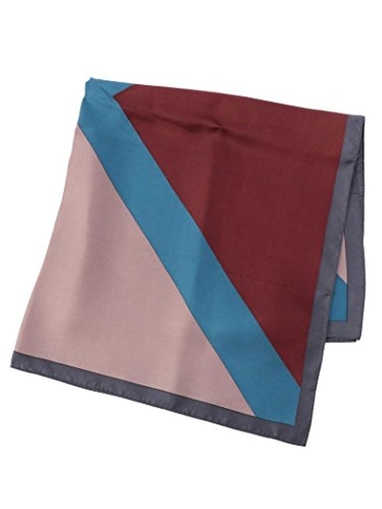 インシデントキロメートル納得させる(ノーリーズ) NOLLEY'S ブロックカラースカーフ 7-0135-5-14-161