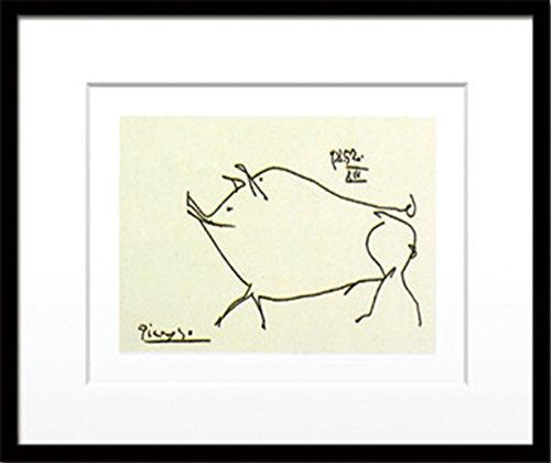 [해외]JIG 아트 포스터 파블로 피카소 Le petit cochon (Silkscreen) IPP-14393/JIG Art Poster Pablo Picasso Le petit cochon (Silkscreen) IPP-14393