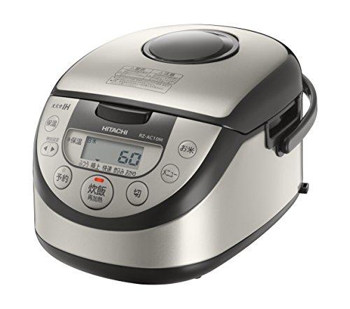 日立 炊飯器 IH式 5.5合 シルバー RZ-AC10M S