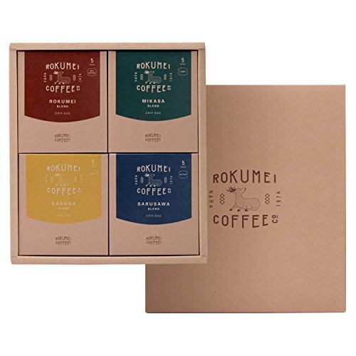 ロクメイコーヒー コーヒーギフト COTONARA 日常を豊かにする4種のブレンド プレゼント (のし無し)