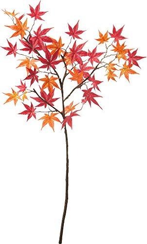 ポピー 造花 モミジ レッド オレンジ FS-9911R/O