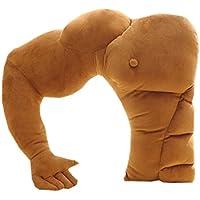 愛のチョークスリーパー 筋肉男 腕枕 クッション 抱き枕 インテリア ピロー マッチョ