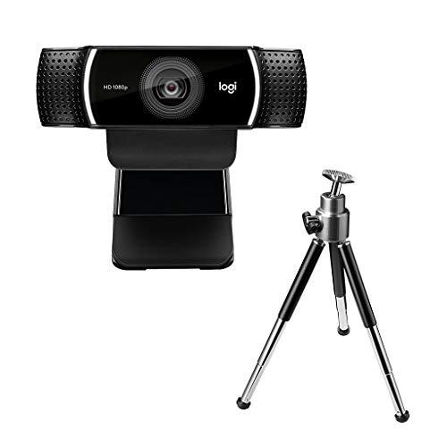 Logicool (ロジクール) ウェブカメラ C922n ブラック フルHD 1080P  自動フォーカス ステレオマイク 撮影用三脚付属 B07QNJ2YQD 1枚目
