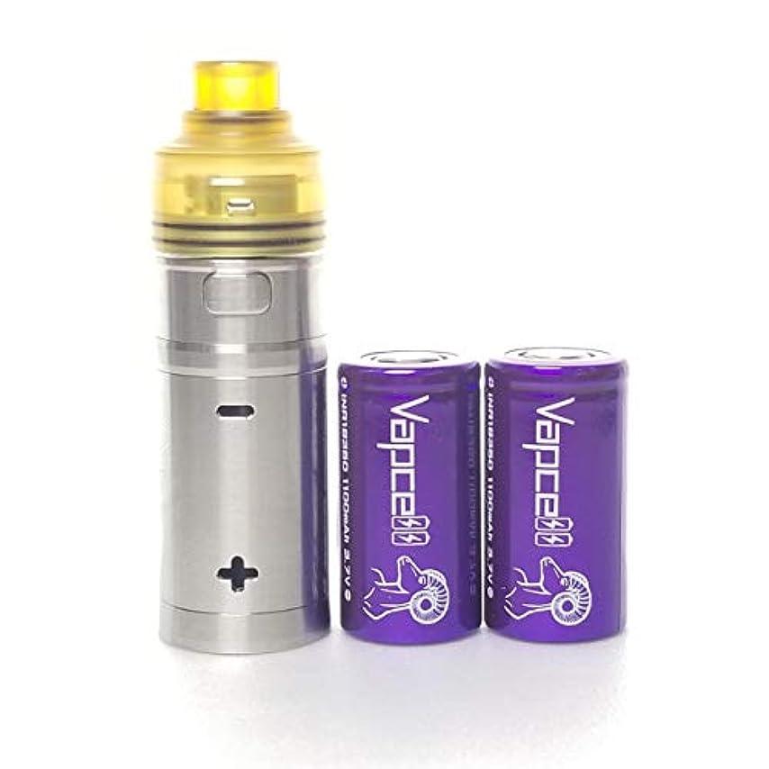 デッキそのテラス【正規輸入品】Cool Vapor TA kit mini 18350 半メカチューブ kit +Vapcell 18350バッテリー付き