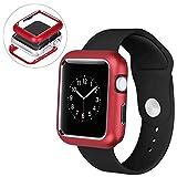 Apple Watch ケース 金属 iWatch Series 4/3/2/1 バンパーカバー 保護 耐衝撃性 脱着簡単 Apple Watch Series 4/3 / 2 ステンレス保護..