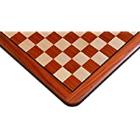 ノーブランド チェス盤 バドローズ×柘植 45cm 45mm
