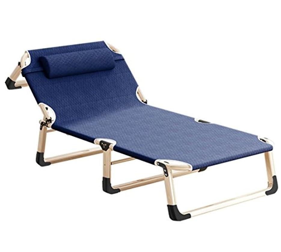 HONEI 折りたたみ式ベッド リクライニング式 チェアーベッド 枕つき アウトドアチェア ゼログラビティ 耐荷重200kg