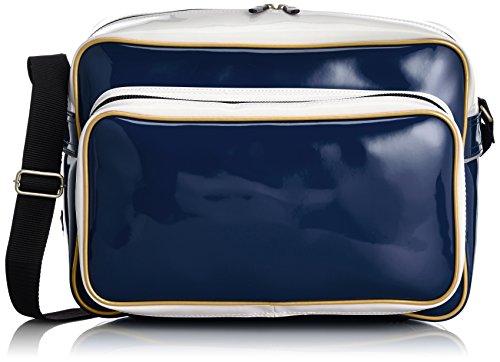 [エスエスケイ] ショルダーバッグ エナメルバックパック(ミドルサイズ) BA4000 70 ネイビー