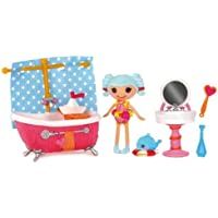 輸入ララループシー人形ドール MGA Mini Lalaloopsy Playsets - Marina Anchors Bubble Fun [並行輸入品]