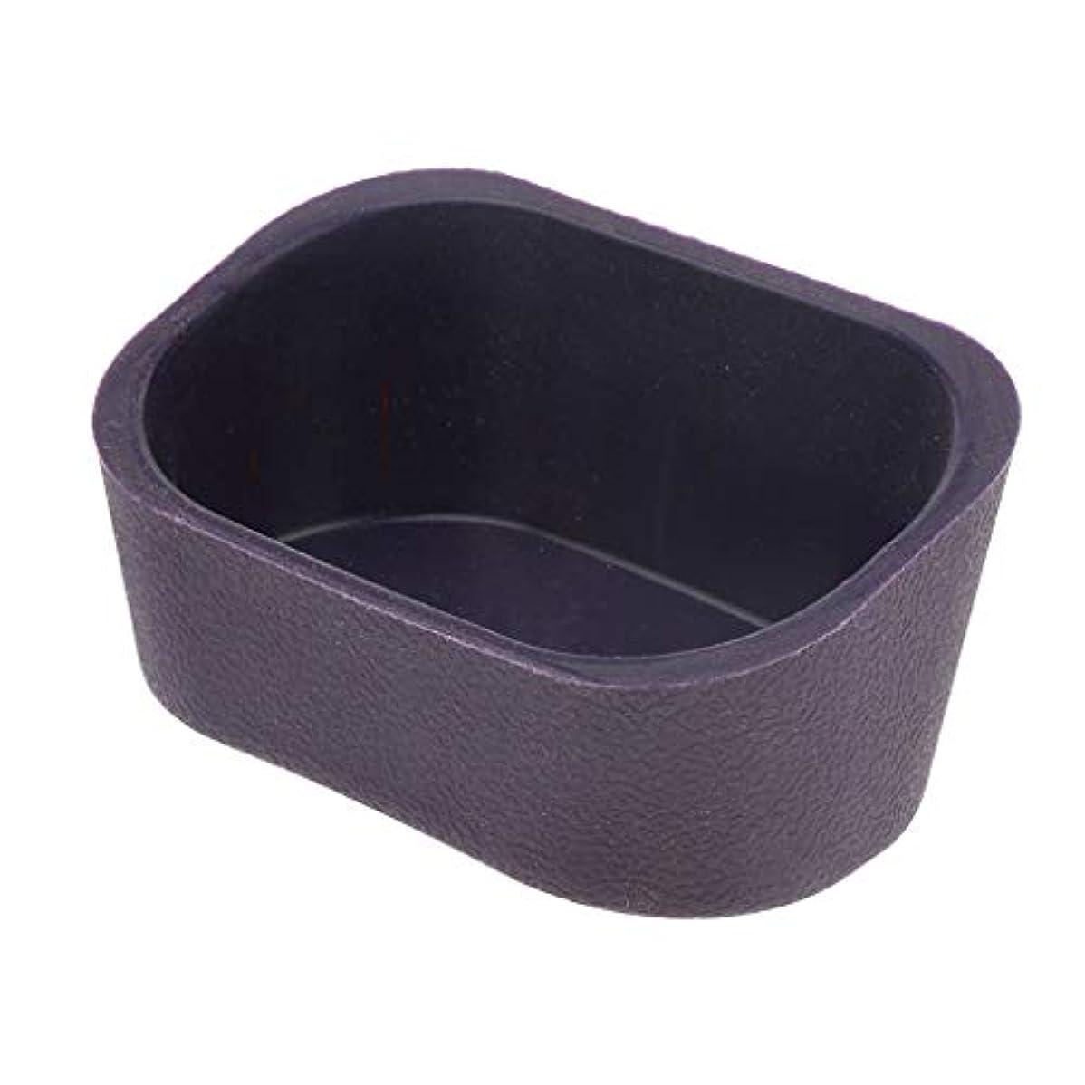 ひばり世辞優しいdailymall シャンプーボウルネックレスクッションピローサロンヘアアクセサリー - 紫