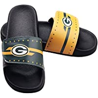 Gloral HIF Mens Adjustable Slippers Sports Shower Slide Flip Flop Sandals