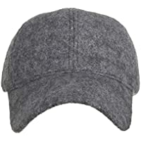MKJNBH Winter Women's Woolen Adjustable Size Solid Baseball Caps Warm Thick Couple Cap Men's Hat