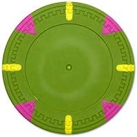25のBrybellyホールディングスCPGWBL - 緑 - 25ロール - グリーンブランクClaysmithトライアングルとスティックポーカー
