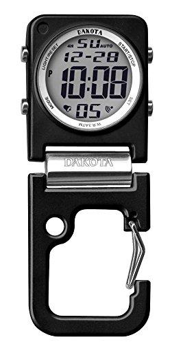 Dakota デジクリップ スクエアウォッチ スタンドタイプ ダコタ 時計 ダコタウォッチ (ブラック) 3088-1