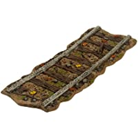 Department 56 Halloween Seasonal Decor Accessories for Village Collections, Haunted Rails Straight Track Road, 0.47-Inch by Department 56 [並行輸入品]