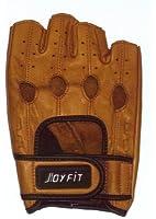 LEZAX(レザックス) JOYFIT ドライビンググローブ 半指羊革 茶 SF-3BR