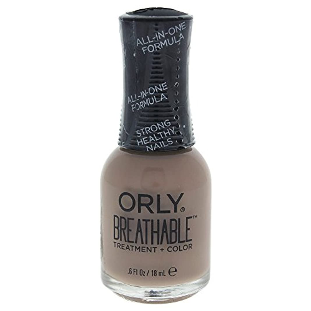 修理可能よく話されるすずめOrly Breathable Treatment + Color Nail Lacquer - Down To Earth - 0.6oz / 18ml