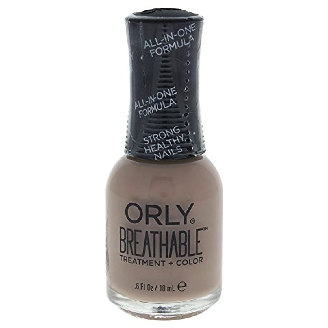 辞任する避けられないマイコンOrly Breathable Treatment + Color Nail Lacquer - Down To Earth - 0.6oz / 18ml