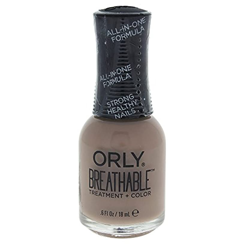 コメント病んでいるなめらかOrly Breathable Treatment + Color Nail Lacquer - Down To Earth - 0.6oz / 18ml