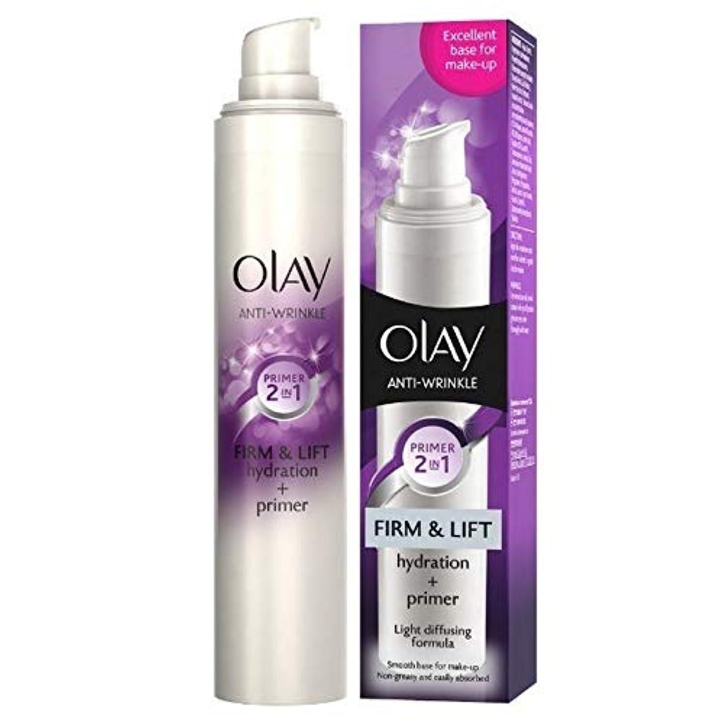 オーラル本能地中海[Olay ] オーレイ抗しわしっかりとリフトプライマー50ミリリットル - Olay Anti-Wrinkle Firm And Lift Primer 50ml [並行輸入品]
