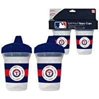 MLB Texas Rangers 2 - Pack 5oz。Sippy Cups