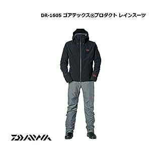 ダイワ(Daiwa) ゴアテックス プロダクト レインスーツ DR-1605 ブラック M