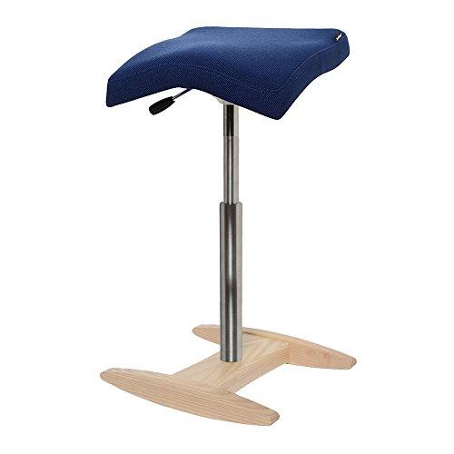 バランスシナジー スクエア ロング ネイビー 腰痛対策 姿勢改善 椅子 バランスチェア 大人用