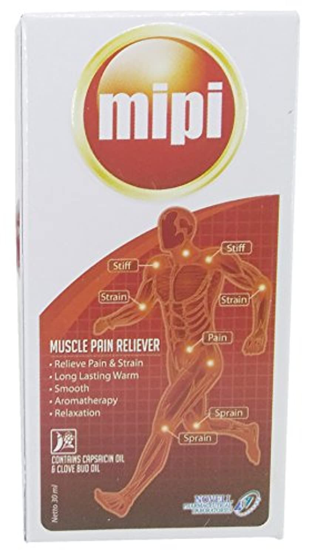 Mipi 筋肉痛リリーフ投手オイル 30ml / 1 floz
