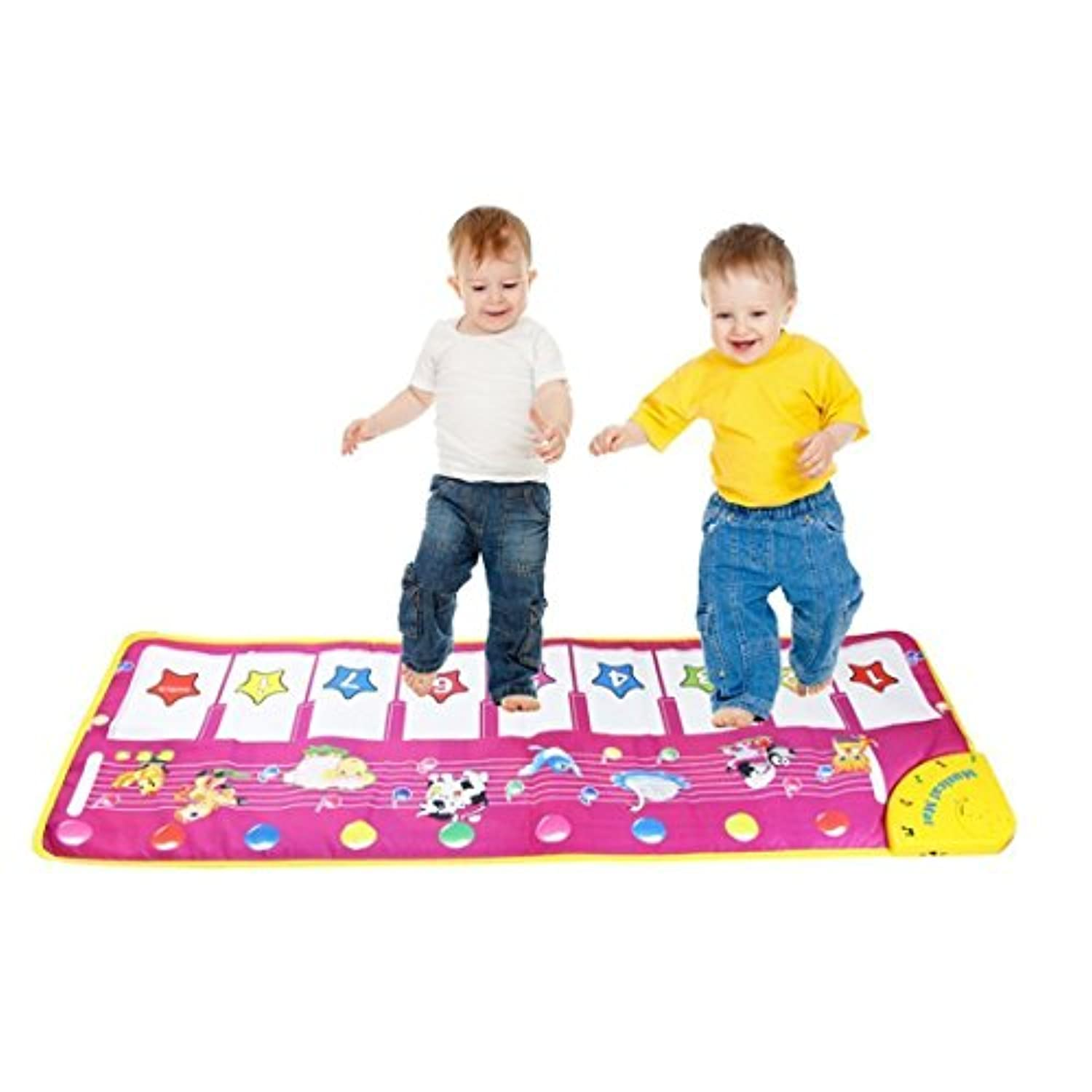 Pep-Baby? Musical Electronic Keyboard Piano Carpet Baby Activity Gym Play Mats by pepbaby