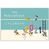 日本ホールマーク ディズニー 2021年 カレンダー 壁掛け 大 ミッキーと仲間たち 775377